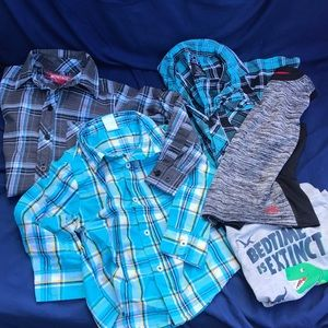 Other - Boys 3T lot 5 Piece Shirts Tops